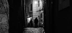 Boulevard of broken dreams... (Baz 120) Tags: candid candidstreet candidportrait city contrast street streetphoto streetcandid streetportrait strangers sony a7 rome roma europe women monochrome monotone mono noiretblanc bw blackandwhite urban life night portrait people provoke italy italia grittystreetphotography faces decisivemoment