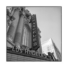 venue • los angeles, california • 2018 (lem's) Tags: theatre theater venue marquee sign neons broadway los angeles california californie rolleiflex t