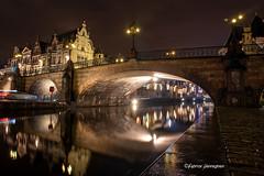 Ghent by night (Fabke.be) Tags: ghent gent nightshooting night nightshot longexposure belgium