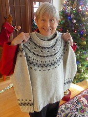 Chicago, Christmas at My Daughter's Condo, LL Bean Sweater Gift (Mary Warren 14.5+ Million Views) Tags: chicago christmas sweater