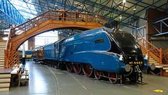 National Railway Museum (Arco Ardon) Tags: gb uk vk england engeland york nationalrailwaymuseum mallard