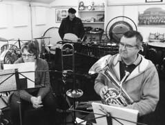 19a Knottingley Silver Band A (I ♥ Minox) Tags: film 2019 knottingley knottingleysilverband brassband windband music musician musicians rehearsal yorkshire westyorkshire olympus om1 om1n olympusom1 olympusom1n ilford hp5 ilfordhp5plus hp51600 1600asa