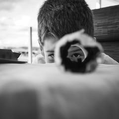 I see you (diannerobbins1) Tags: fujinon23mm14 fujixseries fujifilm fujixt30 eye christmasday portraiture portrait blackandwhite blackandwhitephotography