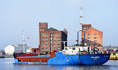 RIVER WATCH # 60 : LIVA GRETA. (tommypatto : ~ IMAGINE.) Tags: rivermersey ships shipping birkenhead wirral