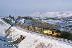 Ahead Of The Beast (chrissyMD655) Tags: class 60 60087 sc settle carlisle cumbria birkett common colas timber 6j37 snow