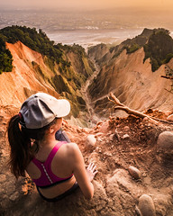 Mountain on Fire (一 B_A_C 一) Tags: taiwan sony a73 a7iii a7m3 a7 台灣 外拍 旅拍 travel model sexy beauty girl woman 人像 模特 苗栗 火炎山