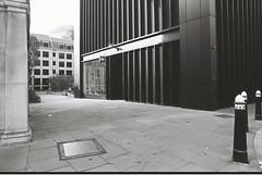 Church Passage (goodfella2459) Tags: nikonf4 afnikkor24mmf28dlens cinestillbwxx 35mm blackandwhite film analog london history crimehistory churchpassage mitresquare stjamespassage catherineeddowes jacktheripper whitechapel eastend aldgate bwfp