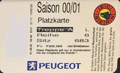 "SC Bern Saisonkarte 2000/2001 • <a style=""font-size:0.8em;"" href=""http://www.flickr.com/photos/79906204@N00/49281192123/"" target=""_blank"">View on Flickr</a>"