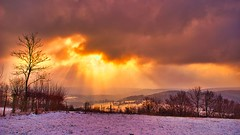 Hiver 2006 (philippe318) Tags: neige snow paysage hiver winter nuages clouds soleil sun