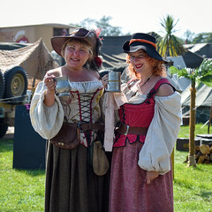 Military Odyssey, August 2019 (Sean Sweeney, UK) Tags: military odyssey 2019 kent detling showground living history livinghistory militaryodyssey reenactors reenactment nikon d750 dslr uk candid people county candids army uniform uniforms pirate dirndl smile smiles