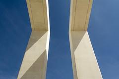 Art with white concrete (Jan van der Wolf) Tags: map198225v concrete lehavre art artwork kunst kunstwerk sabinalang uneteauhavre up3 danielbaumann shadow shadowplay shadows schaduw schaduwen
