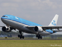 KLM A330-200 PH-AOB (birrlad) Tags: amsterdam ams schiphol international airport netherlands aircraft aviation airplane airplanes airline airliner airways airlines takeoff departure departing runway klm airbus a330 a332 a330200 a330203 phaob