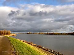 Rainclouds (♥ Annieta ) Tags: annieta december 2019 iphone8plus nederland netherlands zuidholland lekdijk river rivier lek lucht sky ciel allrightsreserved usingthispicturewithoutpermissionisillegal