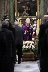Pożegnaliśmy Stanisława A. Morawskiego, Rzym, 27.12.2019r. (Ośrodek Pontyfikatu) Tags: morawski roma funerale