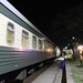 Night train Tbilisi-Baku at Gardabani train station