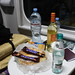 Supplies on the night train Tbilisi-Baku