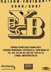 "Saison Freikarte BSC Young Boys • <a style=""font-size:0.8em;"" href=""http://www.flickr.com/photos/79906204@N00/49281647131/"" target=""_blank"">View on Flickr</a>"