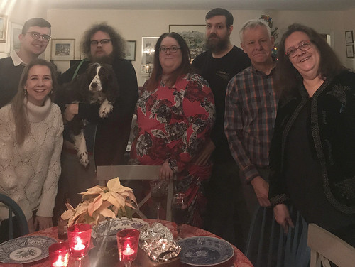 Christmas Eve dinner 2019 ver 2 ©  Michael Neubert