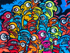 The Angry Masses Yearning To Be Free (J Wells S) Tags: wallart publicart mural streetart urban urbanart findlaymarket overtherhine otr cincinnati ohio blinkcincinnati