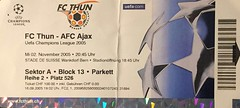 "FC Thun - AFC Ajax • <a style=""font-size:0.8em;"" href=""http://www.flickr.com/photos/79906204@N00/49281858397/"" target=""_blank"">View on Flickr</a>"