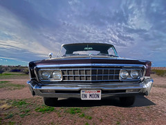 On Moon (oybay©) Tags: chrysler imperial chryslerimperial car automobile desert suncitywestarizona suncitywest arizona moon sky clouds