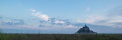 Ciel du petit matin (Michel Couprie) Tags: europe france normandy normandie manche montsaintmichel seaside sky ciel canon couprie composition morning panorama