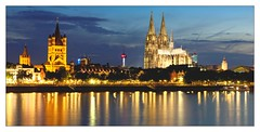 Köln by night (Mr JM BURT) Tags: köln cologne germany deustchland allemagne nuit night jaune lowlight river reflet nikon nikond2xs ruhr rhin rhinruhr