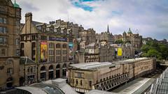 Old town Edinburgh (Ramireziblog) Tags: marketstreetkitchen cityartcentre railwaystation scotland medieval oldtown edinburgh