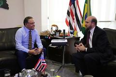 Encontro com o embaixador EUA