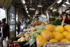 Findlay Market - Cincinnati Ohio (mikeginn12000) Tags: oranges fruit findlaymarket otr over rhine cincinnati ohio urban market canon colorful people bokeh historic