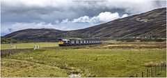 Every little helps (Blaydon52C) Tags: 4d47 dalwhinnie crubenmore truim highland railway rail railways railfreight trains train transport locomotive locomotives loco locomotion railroad 66430 drs directrailservices