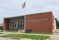 Post Office 51034 (Mapleton, Iowa) (courthouselover) Tags: iowa ia postoffices mononacounty mapleton loesshillsregion northamerica unitedstates us