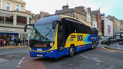 Park's of Hamilton LSK877 (busmanscotland) Tags: parks hamilton lsk 877 lsk877 volvo b11rt plaxton elite megabus megabuscom scottish citylink