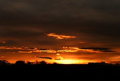 Afterglow..x (Lisa@Lethen) Tags: weather skies sky cloud sun boxing day nature scotland sunset