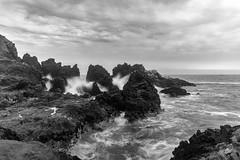 Stormy (_aires_) Tags: lima limaprovince peru aires iris sea rocks ocean clouds spray seascape landscape longexposure canoneos5dmarkiv canonef2470mmf28liiusm sanbartoloperu