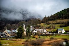 Petit village de montagne au matin (didier95) Tags: lathuile savoie village paysage montagne hiver