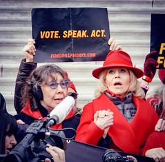 2019.12.27 Fire Drill Fridays with Jane Fonda and Lily Tomlin, Washington, DC USA 361 172141