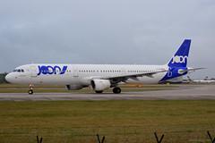 F-GTAM JOON Airbus A321 EGCC 14/12/19 (David K- IOM Pics) Tags: egcc man manchester ringway airport 23l fgtam air france afr af joon airbus a321