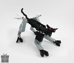 rAvAge: Panther (A Plastic Infinity) Tags: lego secret santa transformer ravage a aa function