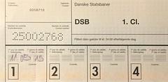 "Freikarte Dänische Staatsbahnen DSB • <a style=""font-size:0.8em;"" href=""http://www.flickr.com/photos/79906204@N00/49284055211/"" target=""_blank"">View on Flickr</a>"