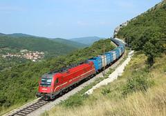 541 010, Hrastovlje,  24 Aug 2019 (Mr Joseph Bloggs) Tags: sž sz slovenia train treno freight cargo merci railway railroad bahn zug siemens taurus 1216 541 010 541010 vlak
