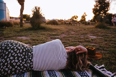 Lisa (Zack Huggins) Tags: ricohgrii vscofilm pack01 marfatx elcosmico transpecosfestival portrait wideangle bokeh availablelight lowlight sunset dusk desert campvibes camping campingtrip campout roadtrip vacation weekendgetaway weekendwarriors westtexas highdesert picnic nap evening goldenhour gold magichour blanket grass pointandshoot compact digitalcompact advancedcompact raw glow rnifilms dreamlike terencemalick wind windy