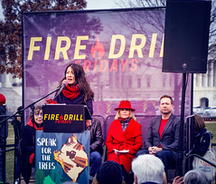 2019.12.27 Fire Drill Fridays with Jane Fonda and Lily Tomlin, Washington, DC USA 361 172056