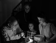 83rd Birthday by Candlelight