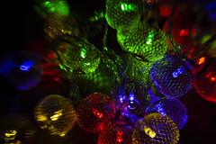 Tiltshift Christmas Lights (adamopal) Tags: canon canon5d canon5dmkiii canon5dmarkiii tiltshiftchristmaslights tiltshiftchristmas tiltshiftlights christmaslights lightexperiment tiltshift lensbaby lights 45mm black blue red cyan green yellow