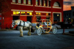 Fairy Tales (Bombatron) Tags: magical fairy tales quine horse carriage explore flickr story time last light dusk canon 6d 24 105l