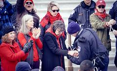 2019.12.27 Fire Drill Fridays with Jane Fonda and Lily Tomlin, Washington, DC USA 361 172171