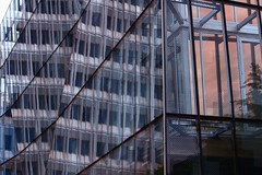 New beginnings (scinta1) Tags: christchurch newzealand building architecture glass abstract reflection lines rectangles urban city