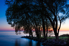 Last Light over Lake Erie (Neil Cornwall) Tags: 2019 canada kingsville lakesidepark october ontario fall sunset