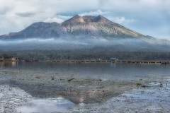 There Is A Rapture On The Lonely Shore (Anna Kwa) Tags: lakebatur craterlake mountbatur activevolcano reflections danaubatur gunungbatur kintamani bali indonesia annakwa nikon d750 7002000mmf28 my nature shore rapture always seeing heart soul throughmylens life journey fate destiny travel world